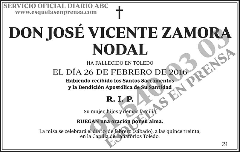 José Vicente Zamora Nodal